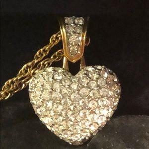 Authentic Swarovski Heart Necklace